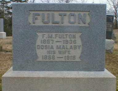 MALABY FULTON, THEODOCIA - Gallia County, Ohio   THEODOCIA MALABY FULTON - Ohio Gravestone Photos