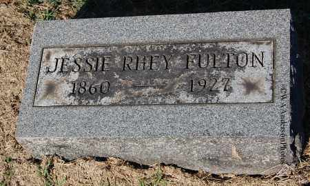 RHEY FULTON, JESSIE - Gallia County, Ohio | JESSIE RHEY FULTON - Ohio Gravestone Photos