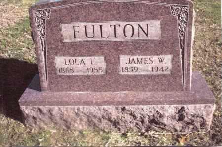 FULTON, JAMES W. - Gallia County, Ohio   JAMES W. FULTON - Ohio Gravestone Photos