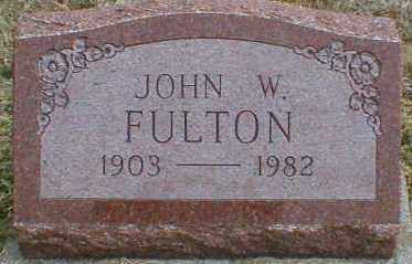 FULTON, JOHN - Gallia County, Ohio   JOHN FULTON - Ohio Gravestone Photos