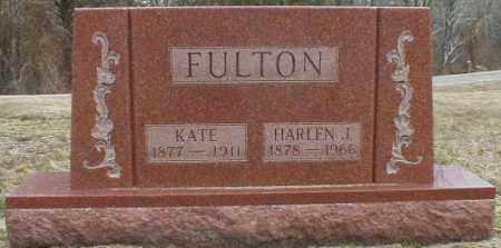 FULTON, HARLEN - Gallia County, Ohio | HARLEN FULTON - Ohio Gravestone Photos