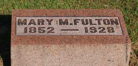 FULTON, MARY M - Gallia County, Ohio | MARY M FULTON - Ohio Gravestone Photos