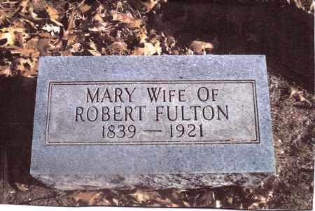 FULTON, MARY - Gallia County, Ohio   MARY FULTON - Ohio Gravestone Photos
