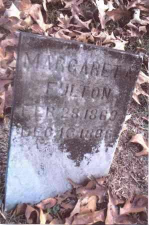 FULTON, MARGARET A. - Gallia County, Ohio | MARGARET A. FULTON - Ohio Gravestone Photos