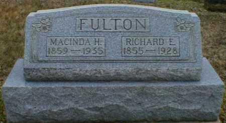 FULTON, RICHARD - Gallia County, Ohio   RICHARD FULTON - Ohio Gravestone Photos