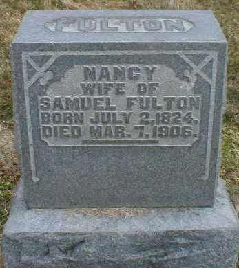 FULTON, NANCY - Gallia County, Ohio | NANCY FULTON - Ohio Gravestone Photos