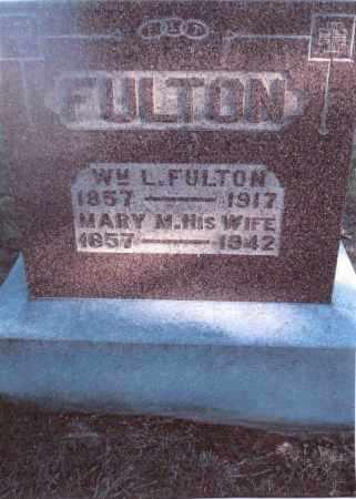 FULTON, MARY M. - Gallia County, Ohio   MARY M. FULTON - Ohio Gravestone Photos