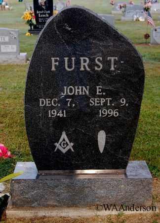 FURST, JOHN E - Gallia County, Ohio | JOHN E FURST - Ohio Gravestone Photos