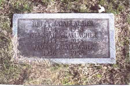 GALLAGHER, DEBORAH A. - Gallia County, Ohio | DEBORAH A. GALLAGHER - Ohio Gravestone Photos
