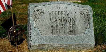 GAMMON, WOODROW O - Gallia County, Ohio | WOODROW O GAMMON - Ohio Gravestone Photos