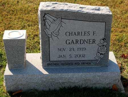 GARDNER, CHARLES F. - Gallia County, Ohio | CHARLES F. GARDNER - Ohio Gravestone Photos