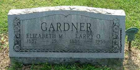 GARDNER, ELIZABETH M - Gallia County, Ohio | ELIZABETH M GARDNER - Ohio Gravestone Photos