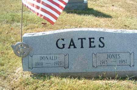 GATES, JONES - Gallia County, Ohio | JONES GATES - Ohio Gravestone Photos
