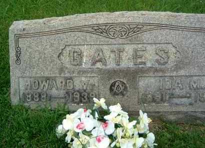 GATES, HOWARD V. - Gallia County, Ohio | HOWARD V. GATES - Ohio Gravestone Photos