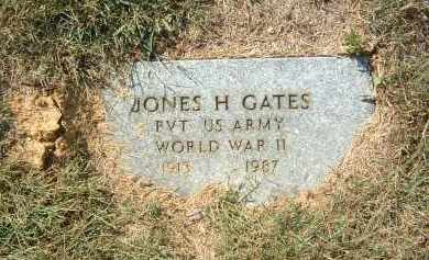GATES, JONES H - Gallia County, Ohio | JONES H GATES - Ohio Gravestone Photos