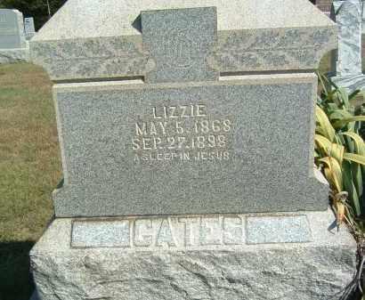 GATES, LIZZIE - Gallia County, Ohio | LIZZIE GATES - Ohio Gravestone Photos