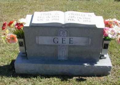 GEE, CHARLES - Gallia County, Ohio | CHARLES GEE - Ohio Gravestone Photos