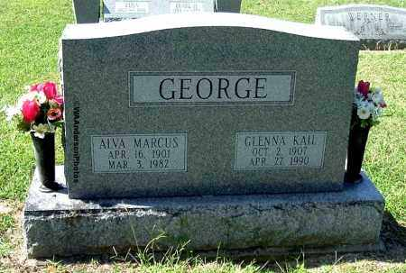 GEORGE, ALVA MARCUS - Gallia County, Ohio | ALVA MARCUS GEORGE - Ohio Gravestone Photos