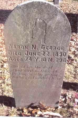 GEORGE, AARON N. - Gallia County, Ohio   AARON N. GEORGE - Ohio Gravestone Photos