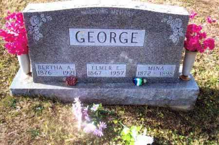 GEORGE, MINA - Gallia County, Ohio | MINA GEORGE - Ohio Gravestone Photos