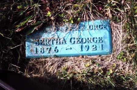 GEORGE, BERTHA - Gallia County, Ohio | BERTHA GEORGE - Ohio Gravestone Photos