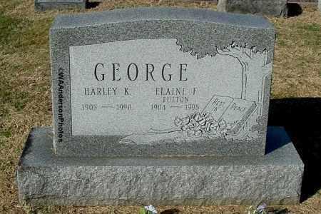 GEORGE, ELAINE F - Gallia County, Ohio | ELAINE F GEORGE - Ohio Gravestone Photos