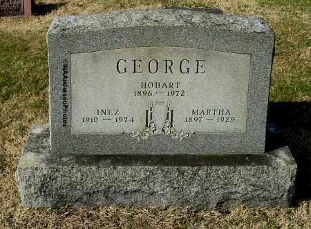 GEORGE, INEZ - Gallia County, Ohio | INEZ GEORGE - Ohio Gravestone Photos