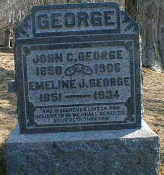 GEORGE, EMALINE - Gallia County, Ohio | EMALINE GEORGE - Ohio Gravestone Photos
