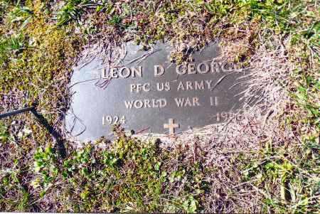 GEORGE, LEON D. - Gallia County, Ohio | LEON D. GEORGE - Ohio Gravestone Photos