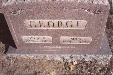 GEORGE, OLLIE B. - Gallia County, Ohio | OLLIE B. GEORGE - Ohio Gravestone Photos