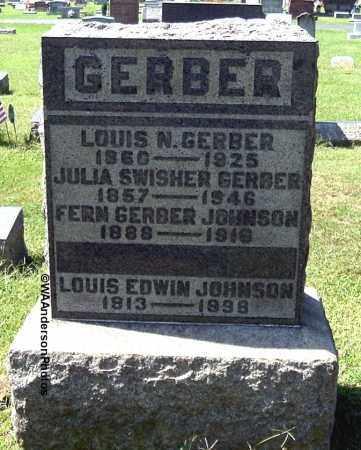 GERBER, LOUIS N (CAPT.) - Gallia County, Ohio | LOUIS N (CAPT.) GERBER - Ohio Gravestone Photos