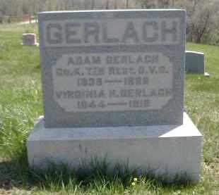 GERLACH, ADAM - Gallia County, Ohio | ADAM GERLACH - Ohio Gravestone Photos