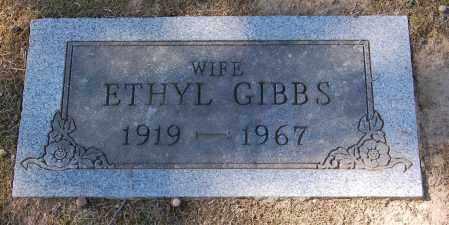 GIBBS, ETHYL - Gallia County, Ohio | ETHYL GIBBS - Ohio Gravestone Photos