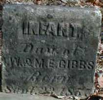 GIBBS, INFANT - Gallia County, Ohio | INFANT GIBBS - Ohio Gravestone Photos