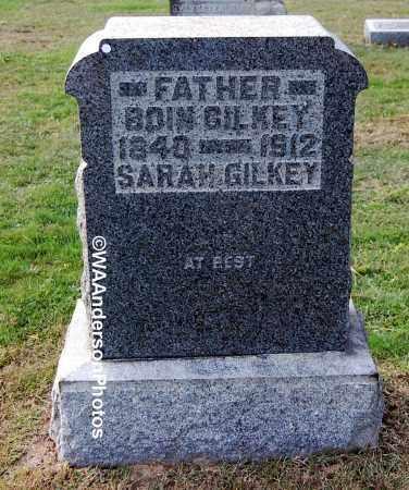 GILKEY, BOIN - Gallia County, Ohio | BOIN GILKEY - Ohio Gravestone Photos
