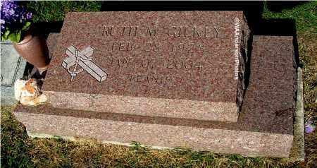 GILKEY, RUTH M - Gallia County, Ohio   RUTH M GILKEY - Ohio Gravestone Photos