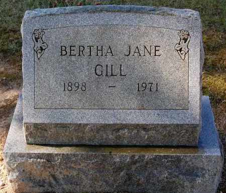 GILL, BERTHA - Gallia County, Ohio | BERTHA GILL - Ohio Gravestone Photos