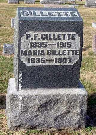 GILLETTE, PASCHAL FIELD - Gallia County, Ohio | PASCHAL FIELD GILLETTE - Ohio Gravestone Photos