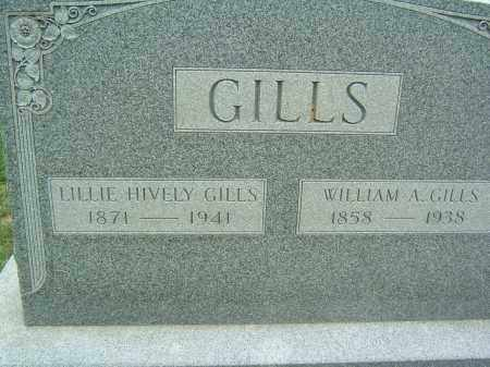 GILLS, WILLIAM A. - Gallia County, Ohio | WILLIAM A. GILLS - Ohio Gravestone Photos