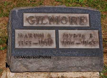 GILMORE, MARTIN LUTHA - Gallia County, Ohio | MARTIN LUTHA GILMORE - Ohio Gravestone Photos