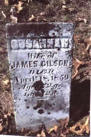 GILSON, SUSANNAH - Gallia County, Ohio   SUSANNAH GILSON - Ohio Gravestone Photos