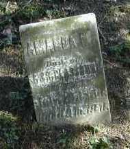 GLASSBURN, AMANDA - Gallia County, Ohio   AMANDA GLASSBURN - Ohio Gravestone Photos