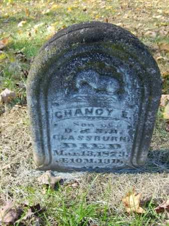 GLASSBURN, CHANCY - Gallia County, Ohio | CHANCY GLASSBURN - Ohio Gravestone Photos
