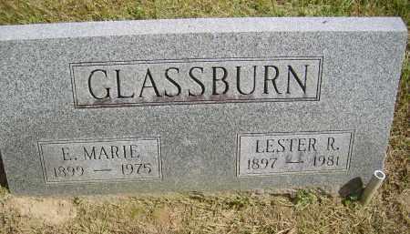GLASSBURN, LESTER - Gallia County, Ohio | LESTER GLASSBURN - Ohio Gravestone Photos