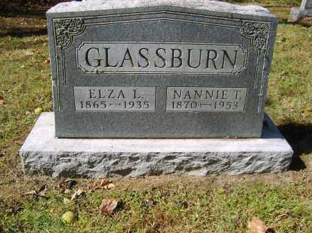 GLASSBURN, ELZA - Gallia County, Ohio | ELZA GLASSBURN - Ohio Gravestone Photos