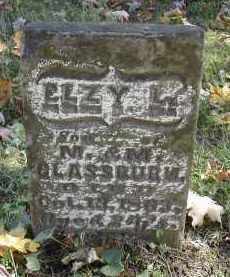 GLASSBURN, ELZY - Gallia County, Ohio   ELZY GLASSBURN - Ohio Gravestone Photos