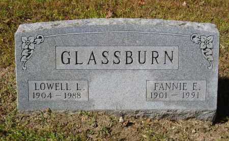 GLASSBURN, FANNIE - Gallia County, Ohio | FANNIE GLASSBURN - Ohio Gravestone Photos