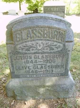 GLASSBURN, OLIVE - Gallia County, Ohio | OLIVE GLASSBURN - Ohio Gravestone Photos