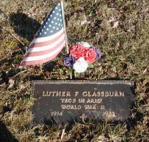GLASSBURN, LUTHER - Gallia County, Ohio | LUTHER GLASSBURN - Ohio Gravestone Photos