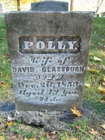 GLASSBURN, POLLY - Gallia County, Ohio   POLLY GLASSBURN - Ohio Gravestone Photos